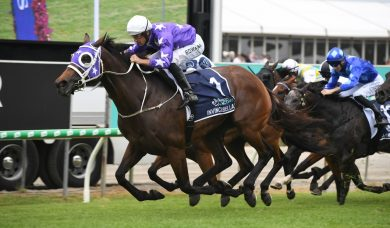 Invincibella Makes History with Third Consecutive Win on Magic Millions Day