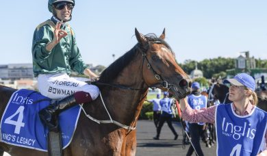 King's Legacy aimed towards the 2020 Golden Rose Stakes