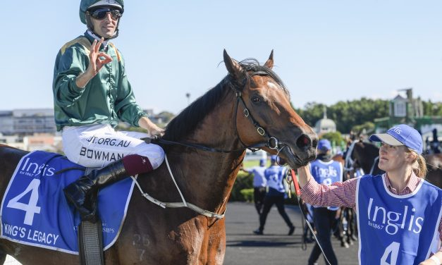 Peter and Paul Snowden Claim Third Inglis Sires' Win with King's Legacy