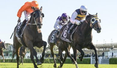 Kiwis claim the 2020 Australian Derby with Quick Thinker