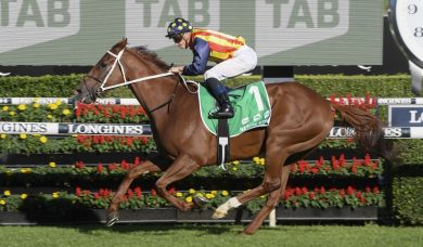 The Everest favourite Nature Strip streets his rivals in Rosehill trial