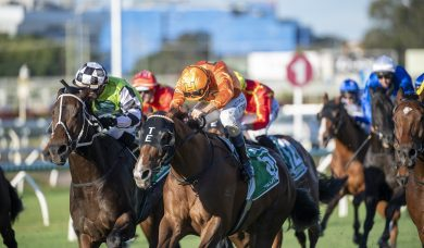 Tyzone times run to perfection to win 2020 Stradbroke Handicap