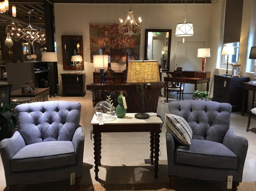Blue Armchairs