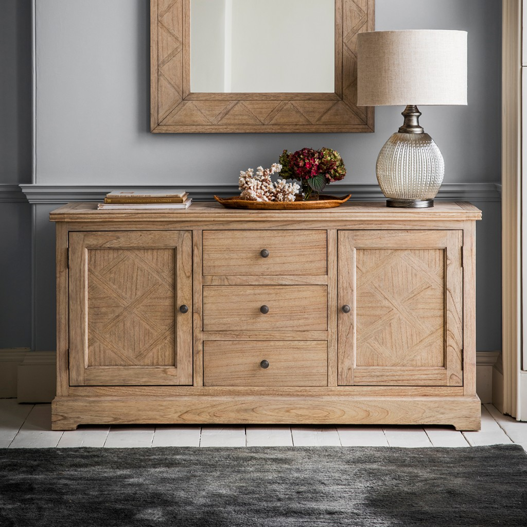 'Mustique' Sideboard from Gallery Home. Image: Gallery Home