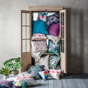 Tropical Textiles from Gallery Home. Image: Gallery Home.