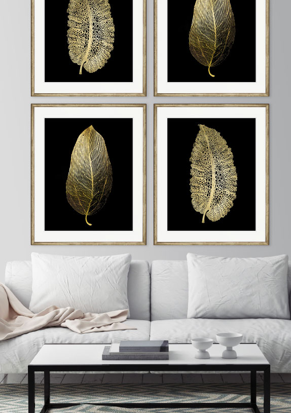 Designer Boys Art - Metallic finishes in the Natural Curiosities Collection
