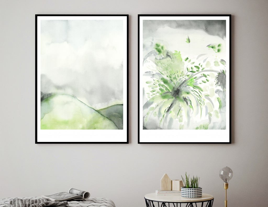 Prints from the 'Rhythm' & 'Leaf Fall' series .