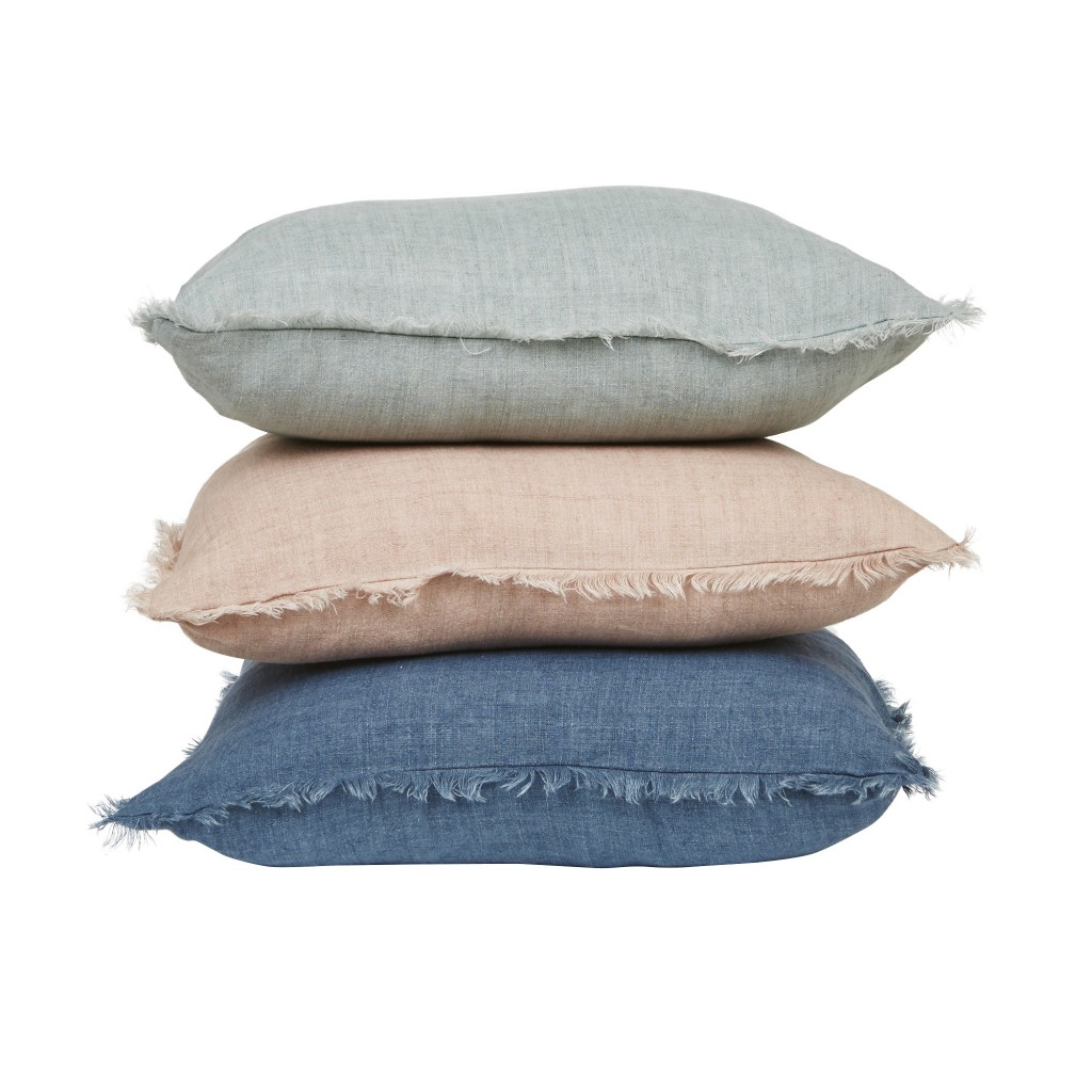 Evie Linen Cushions is Soft Pastels, GlobeWest Collections 2018
