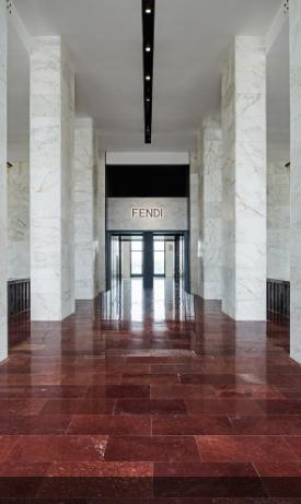 Fendi Entrance