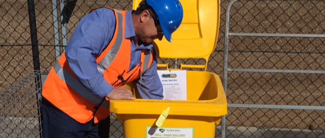 Super Spill Solutions at the upcoming Safety in Action Sydney 2016