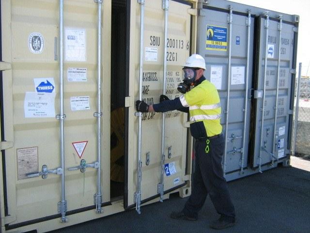 Fumigation services for quarantine management