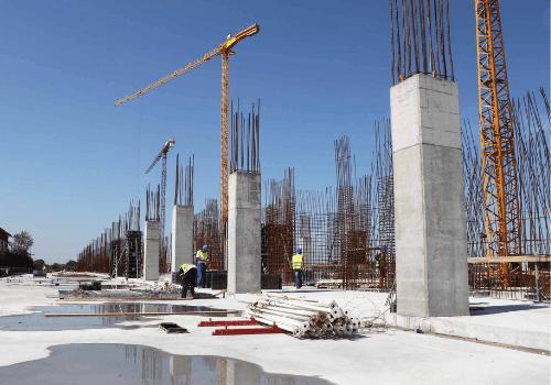 piers concrete pumping