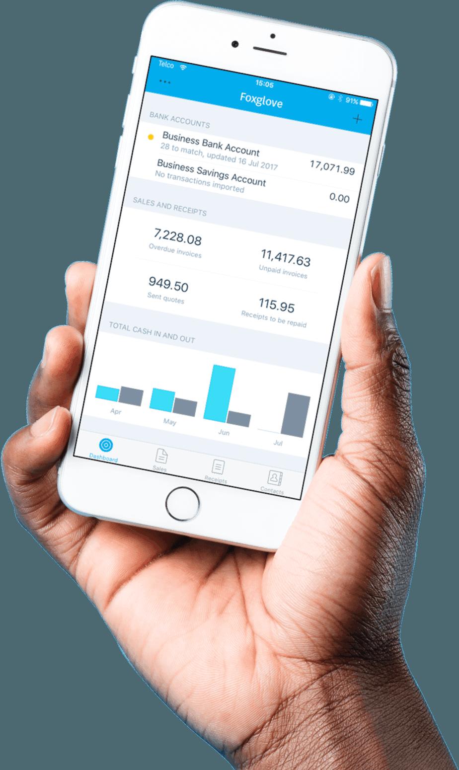 xero mobile app