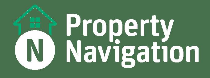 Property Navigation Final Logo_Stacked - On Blue