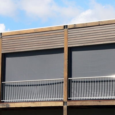 balcony-with-rail-and-roller-blinds-adelaide