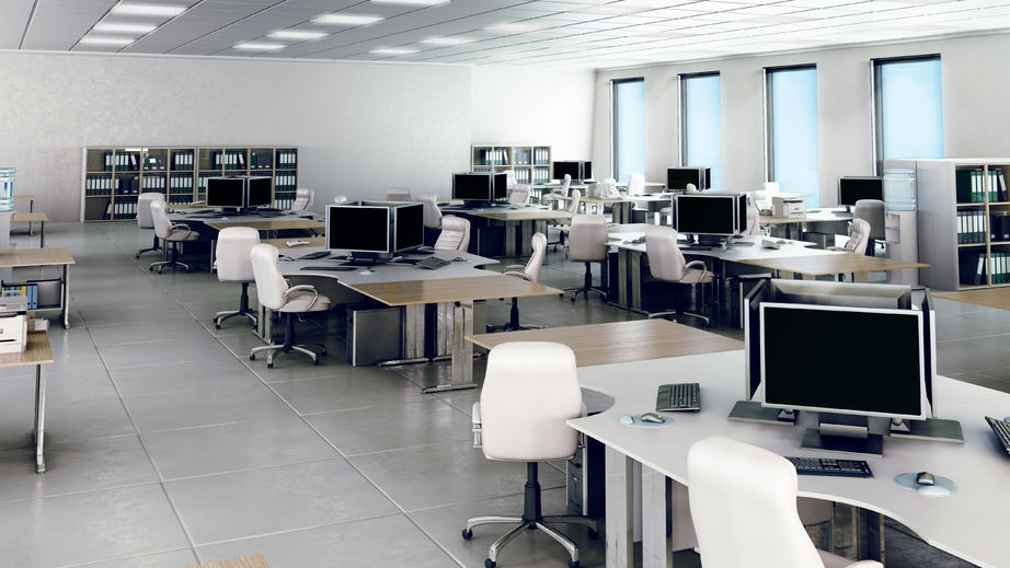48653238 - modern empty office interior