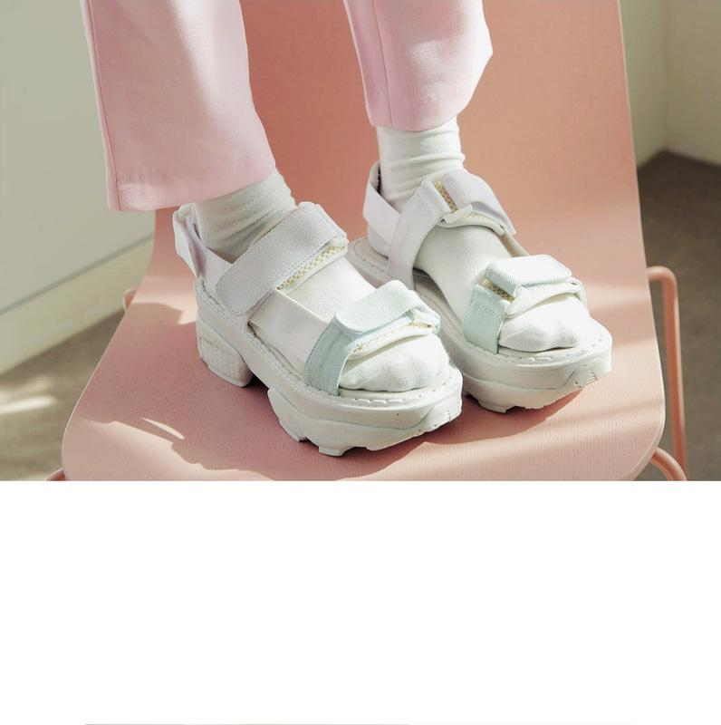 76a79c4a8cc MAISON MARTIN MARGIELA LINE 22 Two Strap Sandals - Social Shopping ...