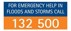 Call State Emergency Service : 132 500