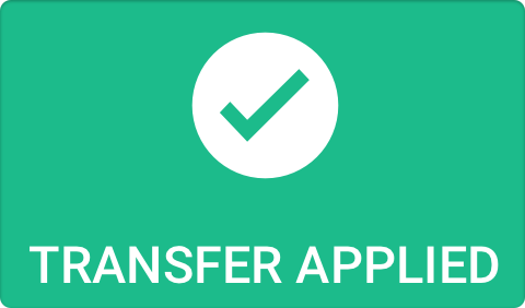 """Transfer applied"""