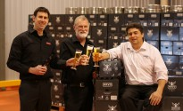 Master-brewers-Andy-Mitchell-Anthony-Clem-and-John-Casella-cheers-to-ARVO-51