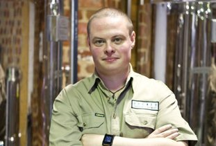 The Public Brewery head brewer Brendan Guild