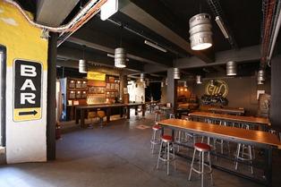 Wayward Brewery bar small