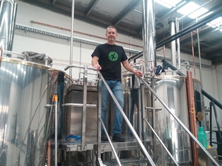 Exit Brewing's Craig Knight, aka Grum, at the helm of the new brewery
