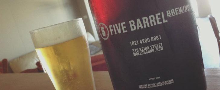 Five Barrel Brewing