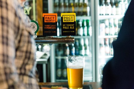 Pact Beer Co. taps