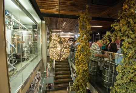 Inside BentSpoke Brewery