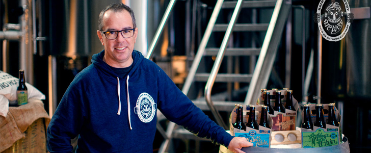 Hairyman brewer Andy Orrell