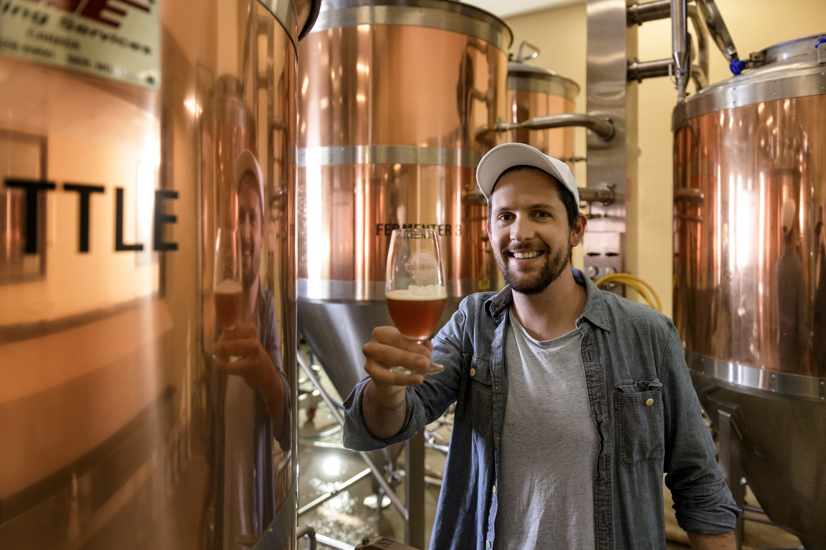 Jonny Bucknall recently completed the Micro Brewing course