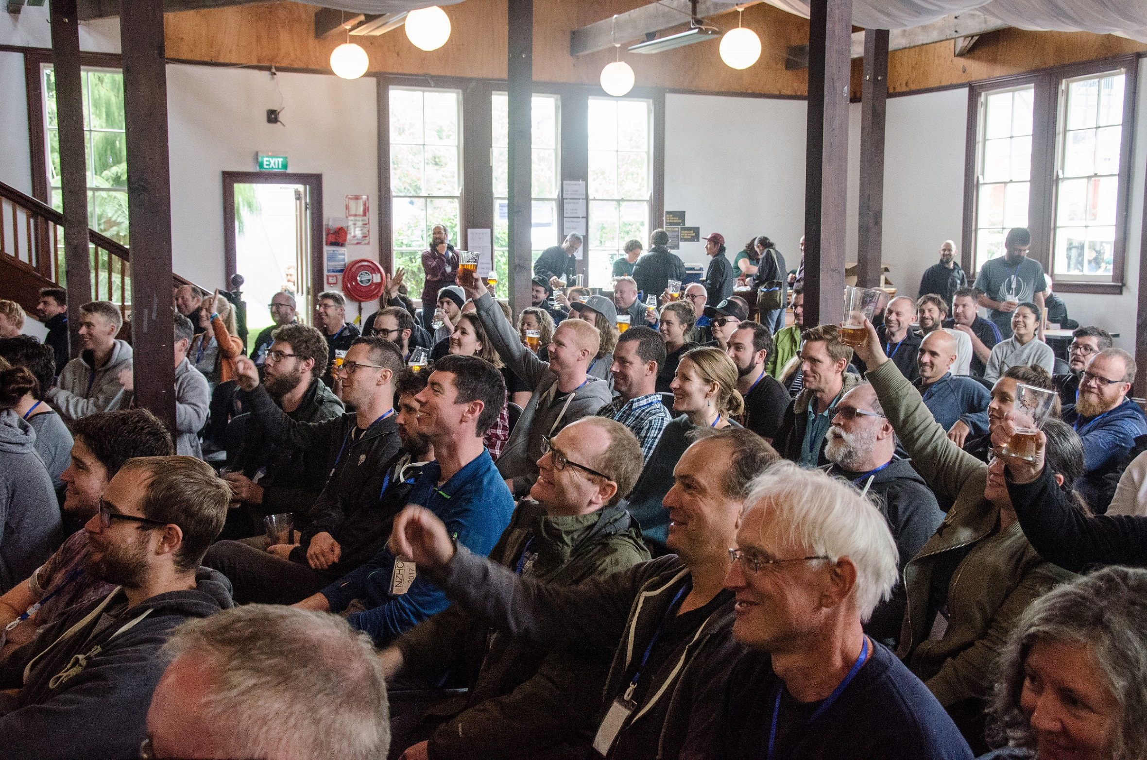 'Cheers!' Glasses raised at NZHC