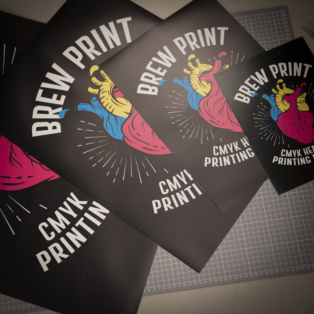 Brewprint Poster