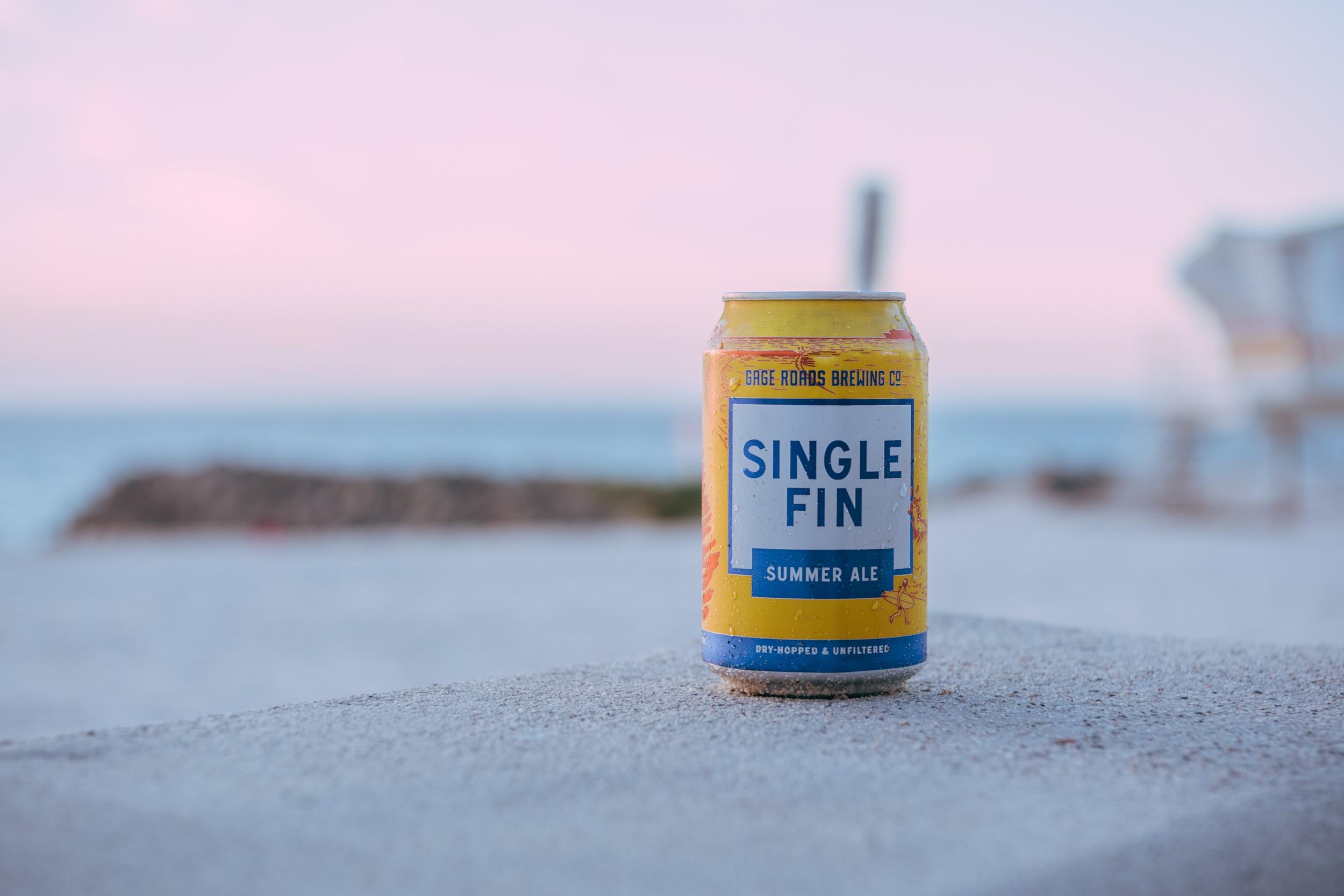 single fin can beach