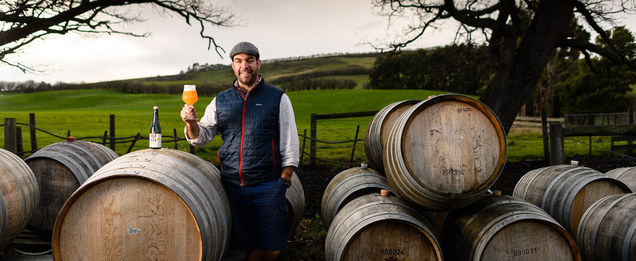 Van Dieman founder and brewer Will Tatchell is famous for his sour beers (credit: Scott Geilston)