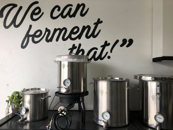 We can ferment article small