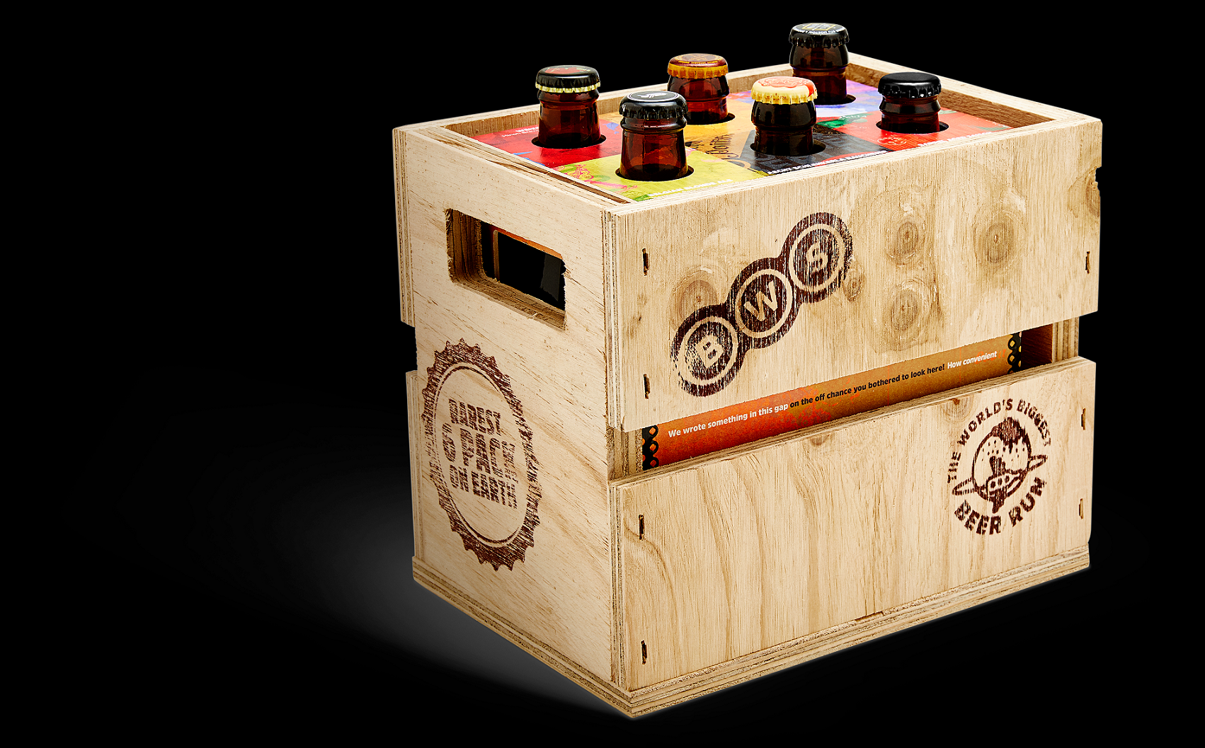 BWS World Beer Crate