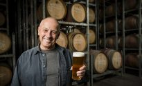 Brewer Phil Sexton at the Giant Steps in Healesville.