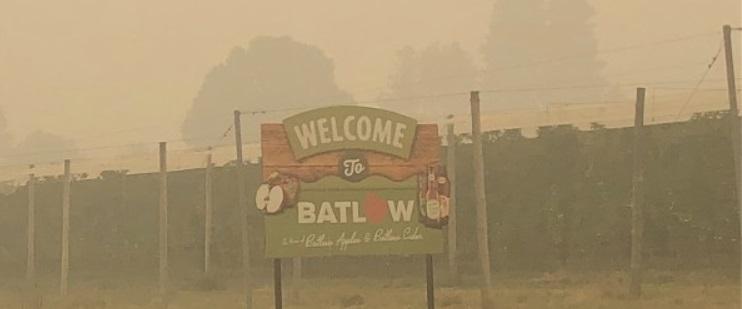 Fires Batlow