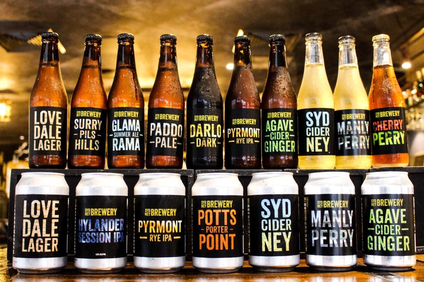 Sydney-Brewewry
