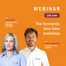 Fermentis Sour Beer Workshop @ Online webinar