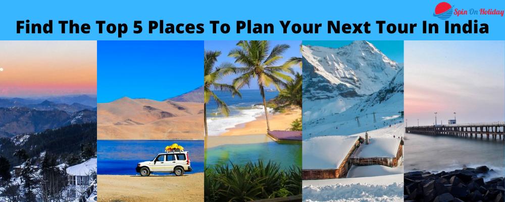 Top 5 Tourist Destination