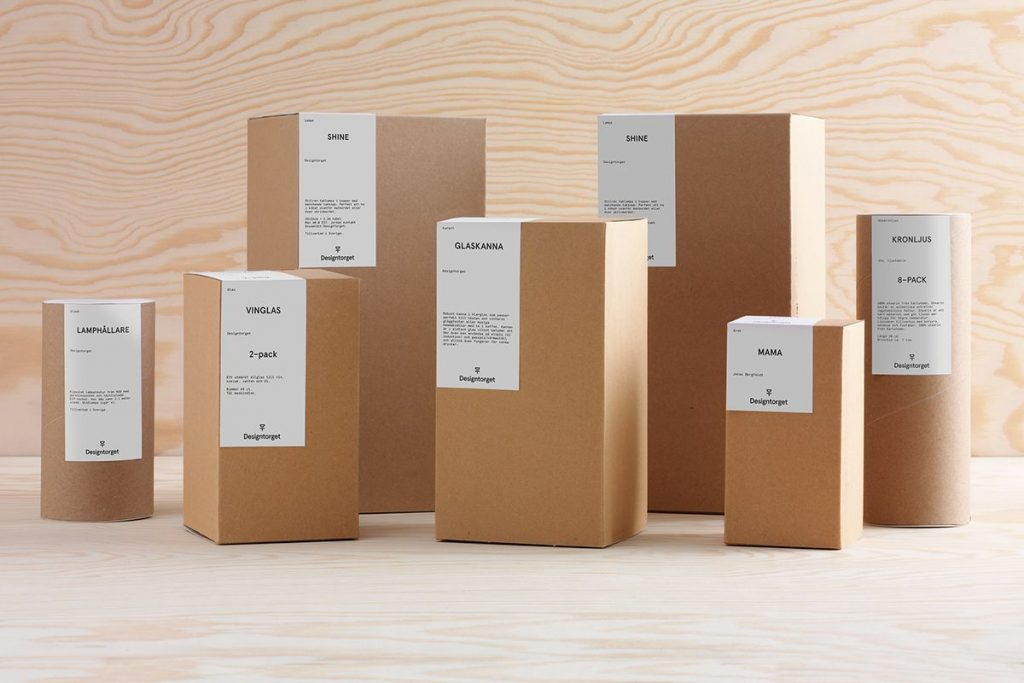 Kraft box packaging
