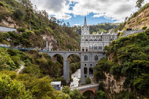 House of God of Las Lajas in Colombia