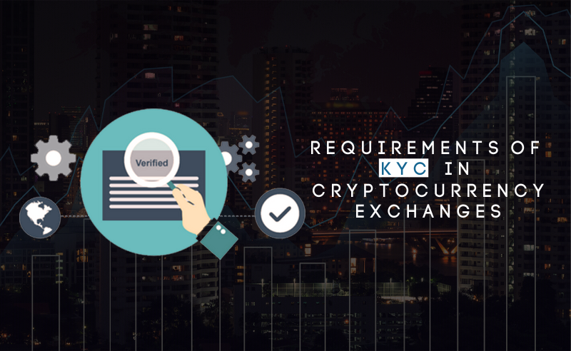 Requirements of KYC in crypto exchanges