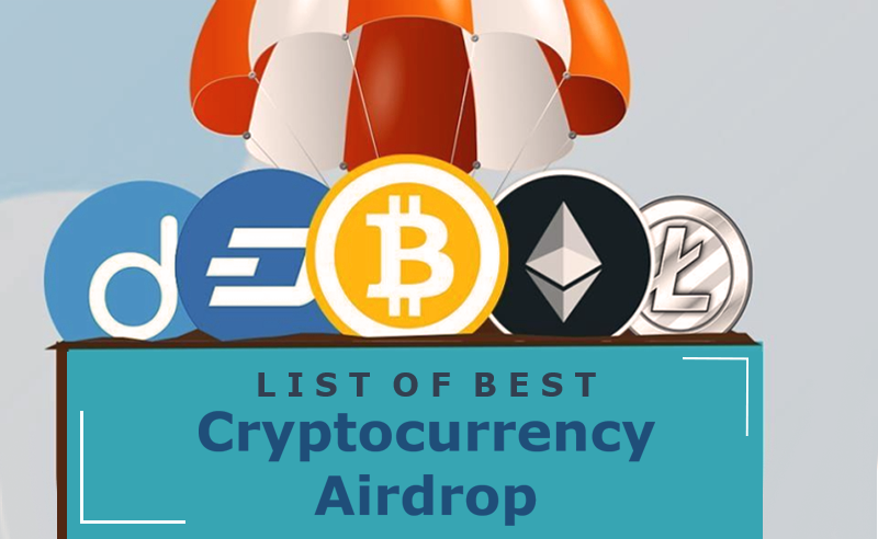 List of best cryptocurrency airdrop