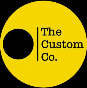 the custom co logo