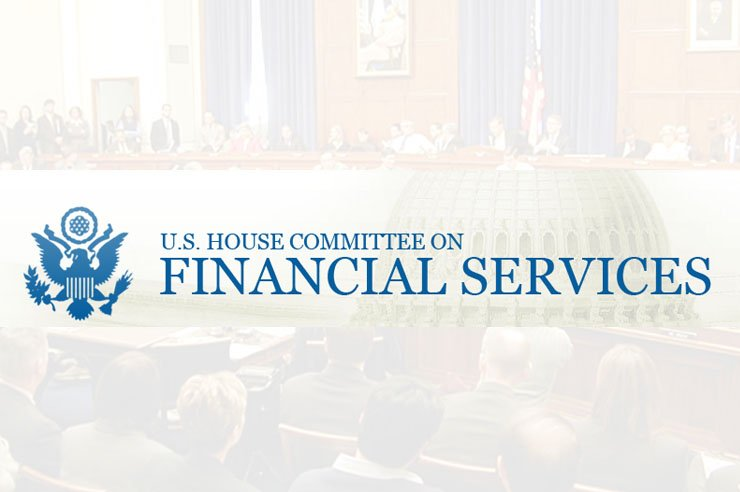 U.S. House Financial Services Committee to Hold Hearing Next week