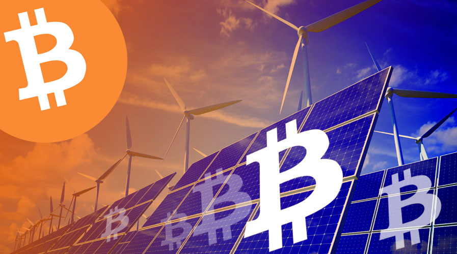 Bitcoin will be mined with wind energy